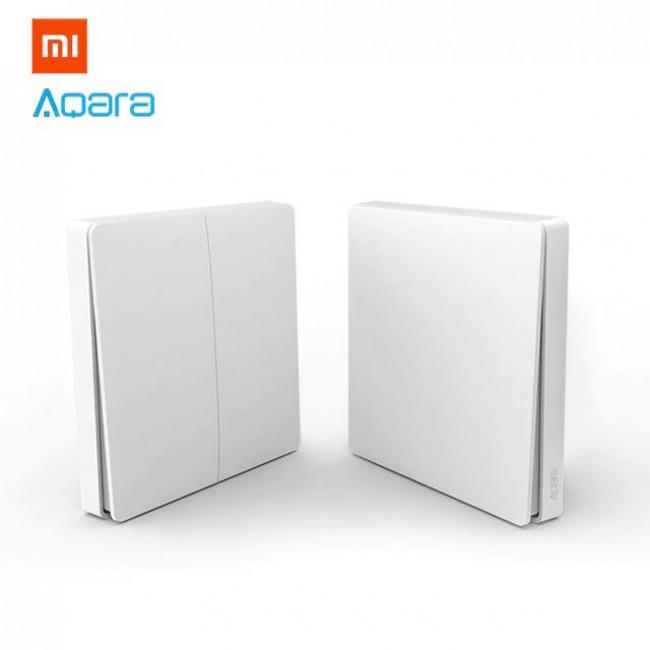 Xiaomi Aqara Έξυπνος Ασύρματος Διπλός Διακόπτης