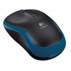 LOGITECH Mouse Wireless M185 Blue