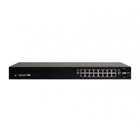 EdgeSwitch 16 Managed PoE+ 150W Gigabit Switch with SFP (ES-16-150W)