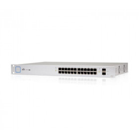 UniFi Switch 24 Port Managed PoE+ 500W Gigabit with SFP (US-24-500W)