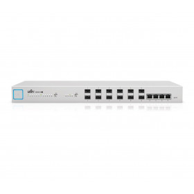 UniFi Switch 16 XG, 16-Port, 10 Gigabit, Non-PoE Managed Aggregation Switch (US-16-XG)