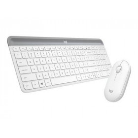 LOGITECH Keyboard/Mouse Wireless MK470 White