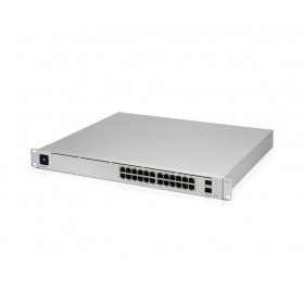 Ubiquiti Unifi Switch USW-Pro-24-POE Gen2, 24xGigabit (16xPOE+ IEEE 802.3af/at & 8x 802.3bt), 2xSFP+, 450W