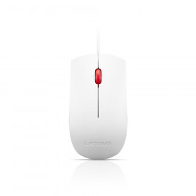 LENOVO ThinkPad Essential USB Mouse, White