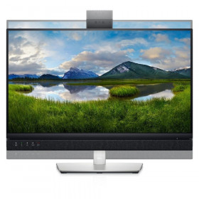 DELL 24 VIDEO CONFERENCING MONITOR C2422HE 23.8 , FHD IPS, HDMI, DisplayPort, USB-C, Webcam, Height Adjustable, 3YearsW