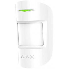 AJAX - MOTION PROTECT PLUS 8227 Ασύρματος ανιχνευτής κίνησης διπλής τεχνολογίας, σε λευκό χρώμα