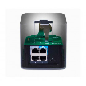 Ubiquiti ACB-ISP, airCube ISP, 4xEthernet, 4dBi, 22dBm, 300Mbps @ 2.4GHz, PoE Out