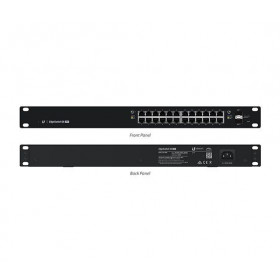 EdgeSwitch 24 Managed PoE+ 250W Gigabit Switch with SFP (ES-24-250W)