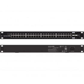 Ubiquiti EdgeSwitch, ES-48-750W, 48xGigabit, 2xSFP+, 2xSFP, POE+ IEEE 802.3at/af and 24V Passive PoE, 750W