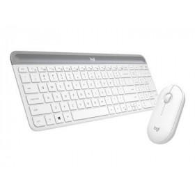 LOGITECH Keyboard/Mouse Wireless MK470 White