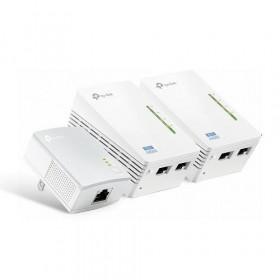 TP-LINK Powerline TL-WPA4220T KIT, AV500 WiFi Network Kit (3 pcs)