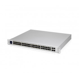 Ubiquiti Unifi Switch USW-Pro-48-POE Gen2, 48xGigabit (40xPOE+ IEEE 802.3af/at & 8x 802.3bt), 4xSFP+, 660W
