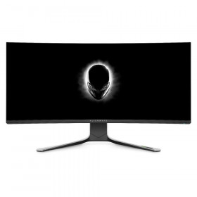 DELL MONITOR ALIENWARE CURVED AW3821DW 37.5 WQHD+ Fast IPS, HDMI, DisplayPort, Height Adjustable, 3YearsW, NVIDIA G-Sync