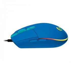 LOGITECH Mouse Gaming G102 Lightsync Blue
