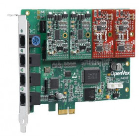 OpenVox A400E04 (A400E+4FXO modules)