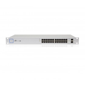 Ubiquiti UniFi Switch 24 Port Managed PoE+ 250W Gigabit with SFP (US-24-250W)
