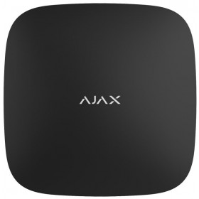 AJAX - BLACK HUB 7559 Ασύρματη κεντρική μονάδα GSM/Ethernet , σε μαύρο χρώμα